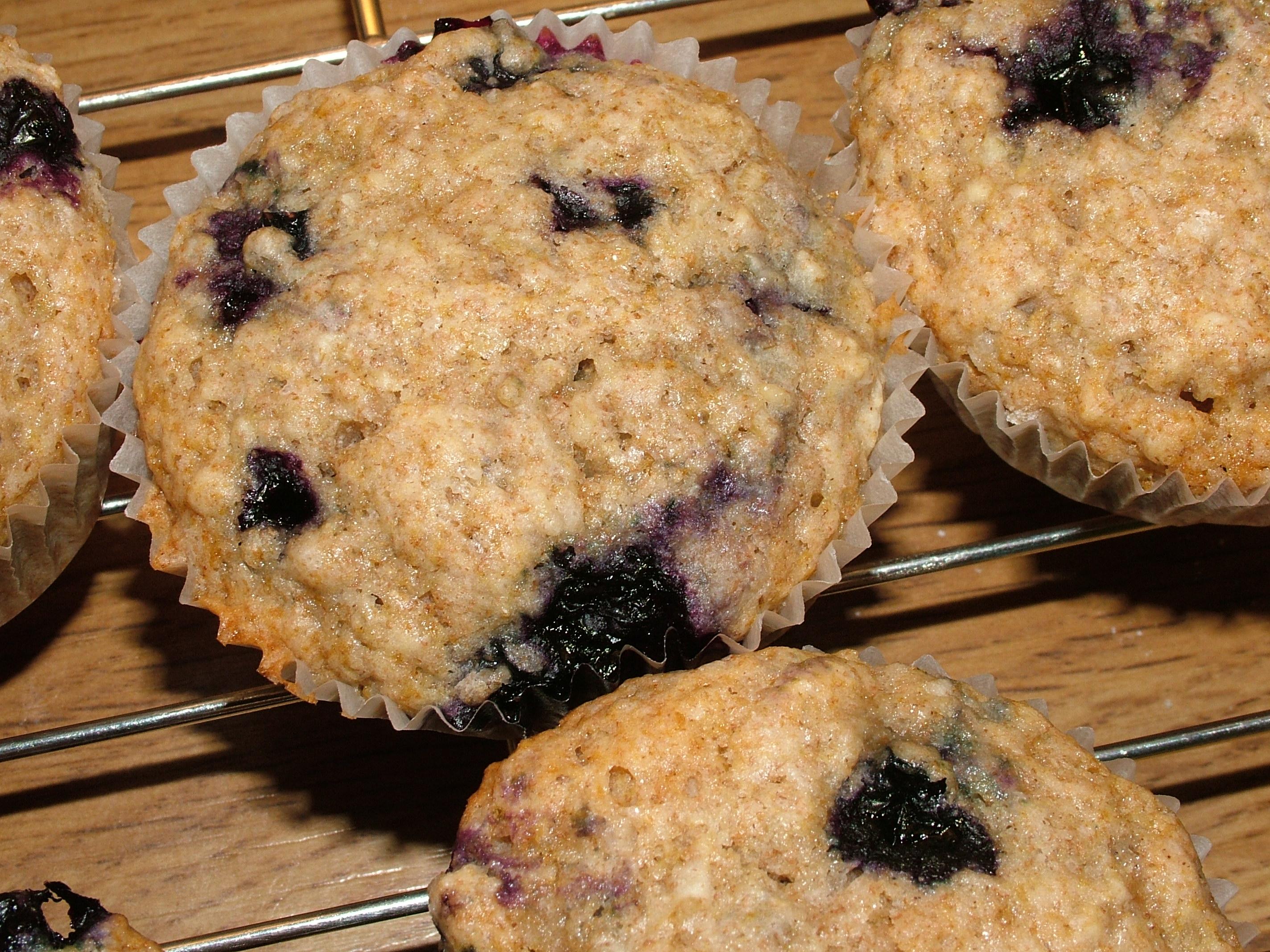 sunne blåbærmuffins