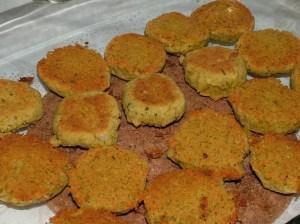 Ferdig stekt falafel