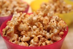 Mmm, nydelig popcorn!